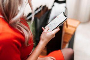 mobil webáruház